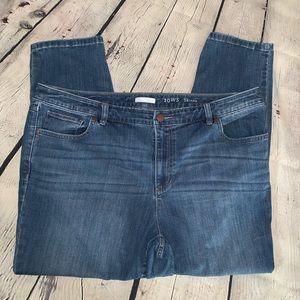 LC Lauren Conrad Skinny Jeans 20W Short
